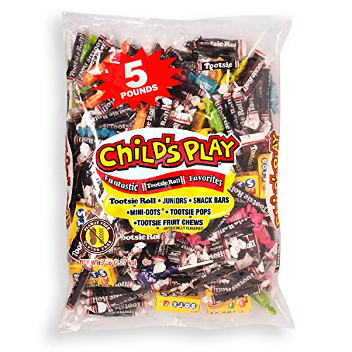 0071720028520 - CHILDS PLAY FUNTASTIC FAVORITES HALLOWEEN FUN SIZE CANDY BAG 5 LB