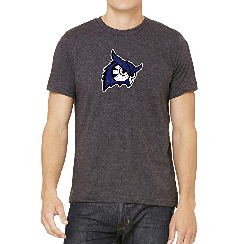 0717520813767 - WESTFIELD STATE UNIVERSITY OWLS DISTRESSED LOGO TEE VERSION 2 (LARGE)
