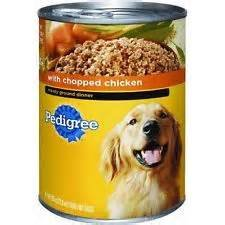 0717656202275 - PEDIGREE DOG FOOD CANNED 22 OZ CHOPPED CHICKEN 6 PACK