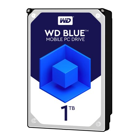 0718037800936 - WD BLUE 1TB MOBILE HARD DISK DRIVE - 5400 RPM SATA 6 GB/S 9.5 MM 2.5 INCH - WD10JPVX