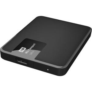 0718037825038 - WD 1TB BLACK MY PASSPORT ULTRA PORTABLE EXTERNAL HARD DRIVE - USB 3.0 - WDBGPU0010BBK-NESN