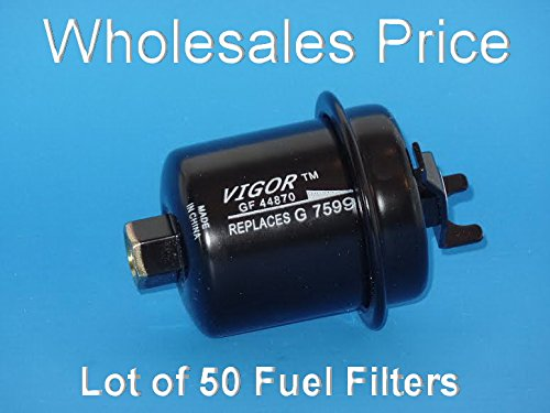 0718207763078 - WHOLESALES PRICE ( LOT OF 50) GF44870 FUEL FILTERS FITS: ACURA CL 1997-1999 EL 1997-2000 INTEGRA 1994-2001 RL 1996-2004 TL 1995-1998