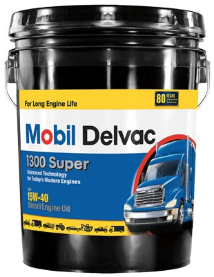 0071924448230 - MOBIL MO01305P 5 GALLON 15W40 SUPER DIESEL ENGINE OIL