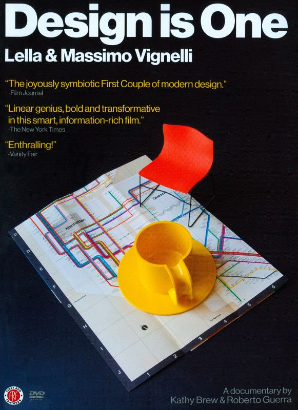 0720229916073 - DESIGN IS ONE: LELLA & MASSIMO VIGNELLI (DVD)