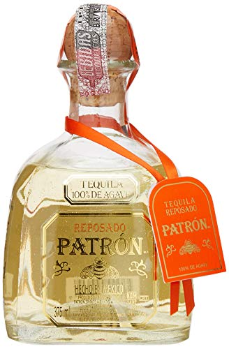0721733000609 - TEQUILA PATRON REPOSADO 375ML