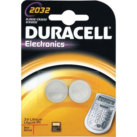 0722512511248 - 12 DURACELL CR2032 / DL2032 DURALOCK LITHIUM BATTERIES CELL BUTTON ELECTRONICS