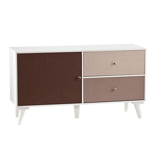 0725638199680 - UPTON HOME LINEN COLORBLOCK ANYWHERE STORAGE CABINET/CONSOLE