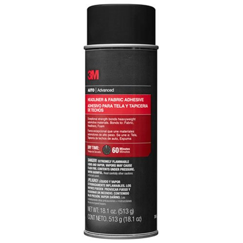 7258006834904 - 3M 38808 HEADLINER AND FABRIC ADHESIVE - 18.1 OZ.