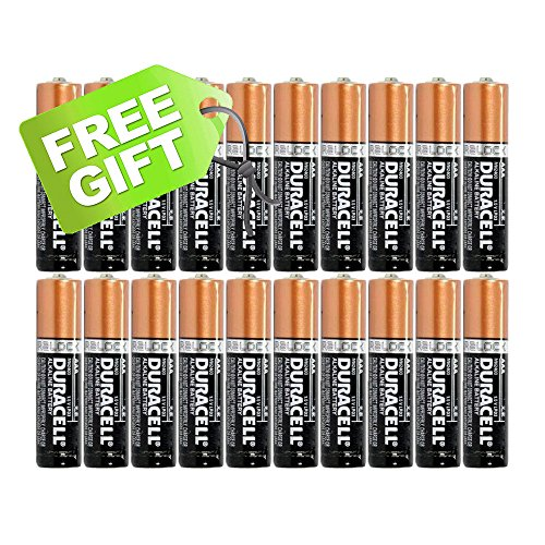 0729378319728 - DURACELL DURALOCK COPPERTOP ALKALINE BATTERIES - PLUS FREE GIFT - CHOOSE YOUR PACK (20 AAA)