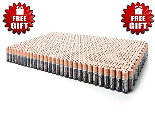 0729378319759 - DURACELL DURALOCK COPPERTOP ALKALINE BATTERIES - PLUS FREE GIFT - CHOOSE YOUR PACK (20 AA + 20 AAA)