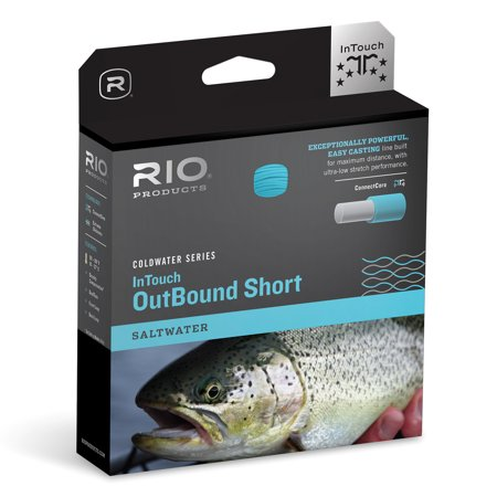 0730884213646 - RIO FLY FISHING INTOUCH SALTWATER OUTBOUND SHORT FLY LINE WF9I/S6