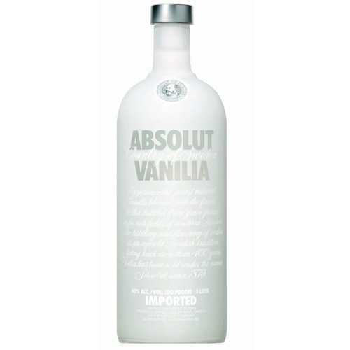 7312040060108 - VODKA ABSOLUT VANILA 1 LITRO
