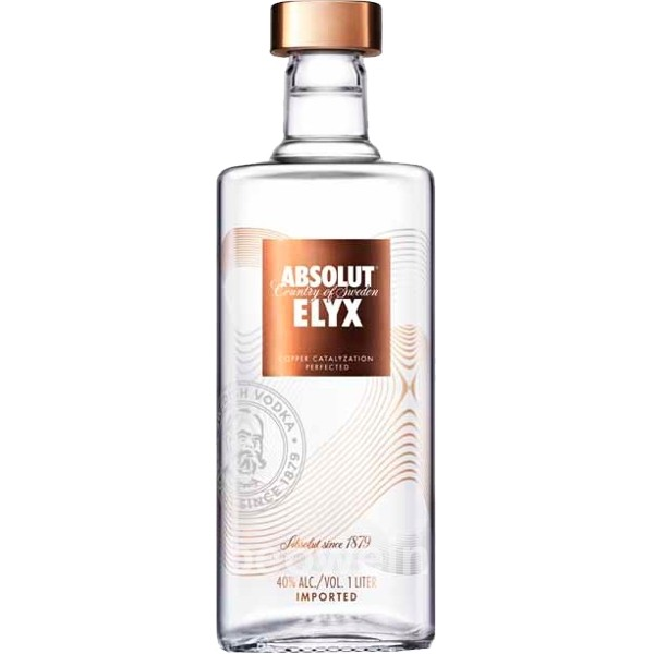 7312040211012 - VODKA ABSOLUT ELYX 1 LITRO