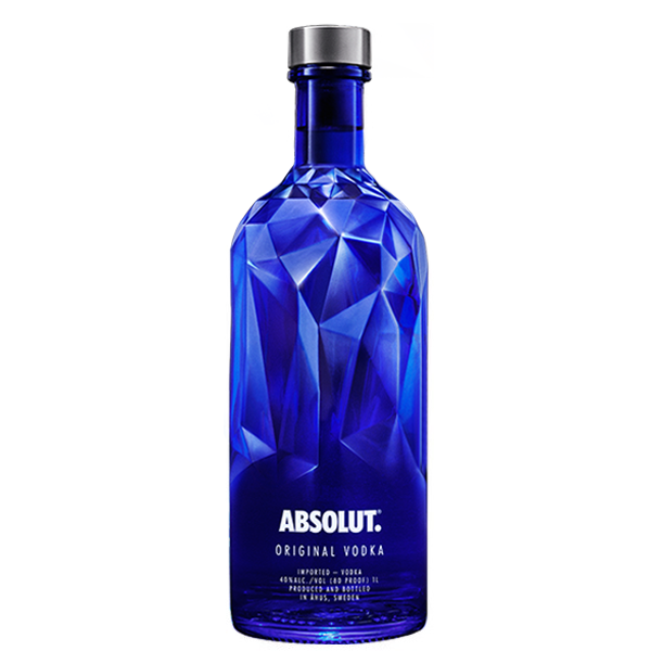 7312040551705 - VODKA FACETS ABSOLUT 1L