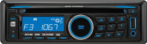 7332779994314 - DUAL XD6150 AM/FM/CD RECEIVER WITH 3.5MM AUXILIARY INPUT, USB CHARGING PORT AND DETACHABLE FACE