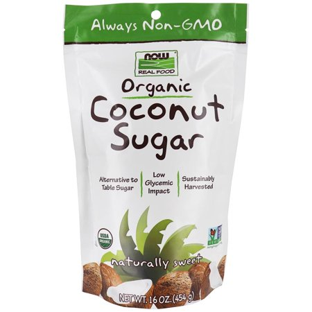 0733739069153 - NOW FOODS ORGANIC COCONUT SUGAR, 16 OUNCE