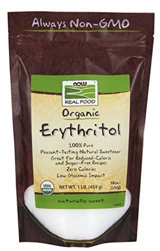 0733739069214 - NOW FOODS ORGANIC ERYTHRITOL PURE SWEETENER 1 LB