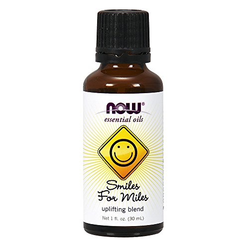 0733739076335 - NOW SMILES FOR MILES ESSENTIAL OILS BLEND, 1-OUNCE