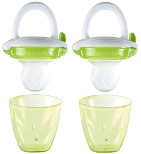0735282447303 - MUNCHKIN BABY FOOD FEEDER, GREEN, 2 COUNT