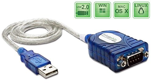 7387809112039 - PLUGABLE USB TO RS-232 DB9 SERIAL ADAPTER (PROLIFIC PL2303HX REV D CHIPSET)