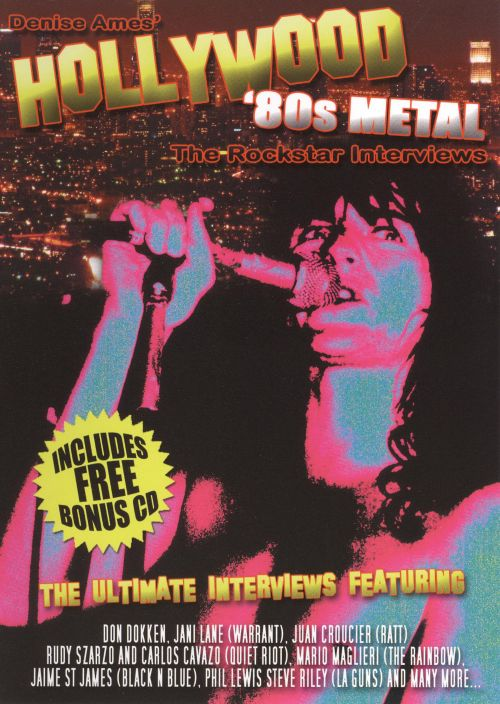0741157395495 - THE ROCKSTAR INTERVIEWS: '80S METAL