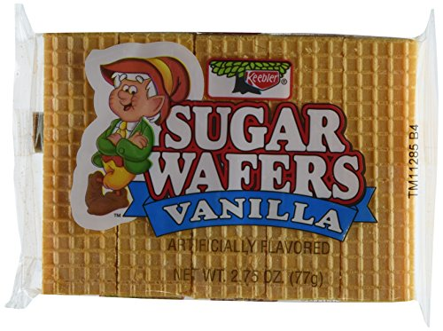 0741655204633 - KEEBLER VANILLA SUGAR WAFER (PACK OF 12) 2.75OZ