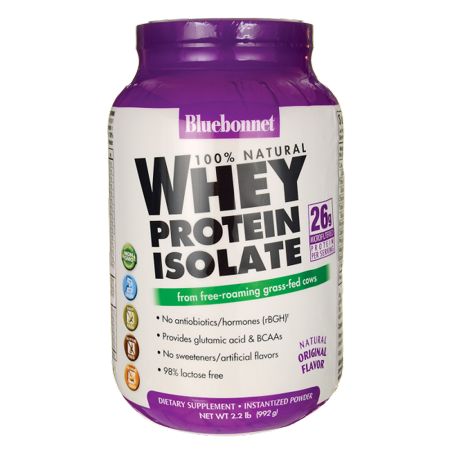 0743715015616 - ALL NATURAL WHEY PROTEIN ISOLATE POWDER GLUTEN-FREE PDR 2.2 LB