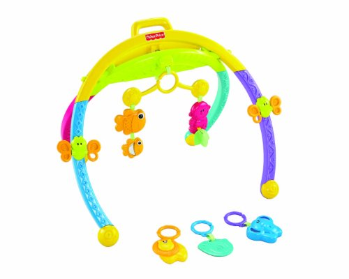 0746775094812 - FISHER-PRICE GROWING BABY ANIMAL ACTIVITY GYM