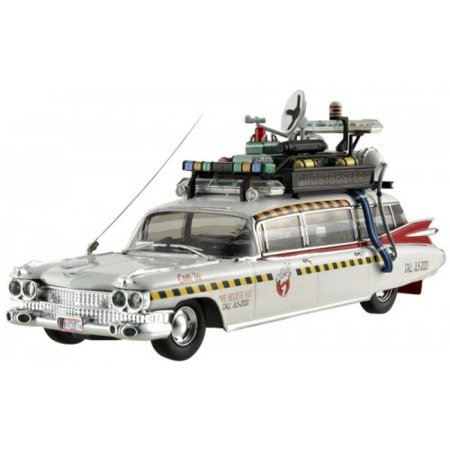 0746775144524 - GHOSTBUSTERS 2 ECTO-1A HOT WHEELS ELITE 1:43 SCALE VEHICLE