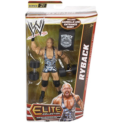 0746775181772 - WWE ELITE COLLECTION RYBACK ACTION FIGURE