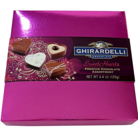 0747599314773 - GHIRARDELLI | GHIRARDELLI SWEETHEARTS FOR MY VALENTINE CHOCOLATES, 4.4-OUNCE GIFT BOX