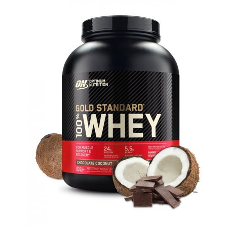 0748927027068 - 100% WHEY PROTEIN GOLD STANDARD CHOCOLATE COCONUT 5 LB