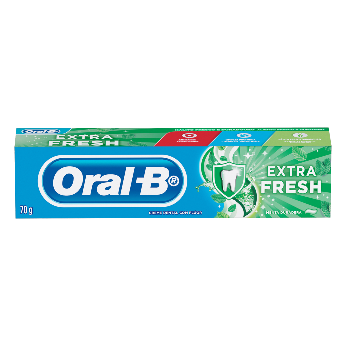 7500435150309 - CREME DENTAL EXTRA FRESH ORAL-B CAIXA 70G