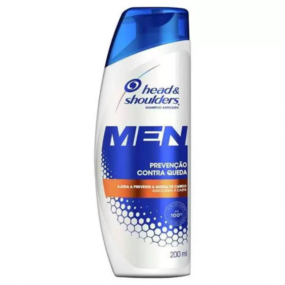 7501006707687 - SHAMPOO ANTICASPA HEAD & SHOULDERS MEN PREVENÇÃO CONTRA QUEDA FRASCO 200ML