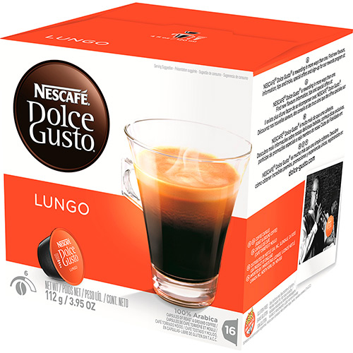 7501059273245 - DOLCE GUSTO CAFFE LUNGO 16 BEVERAGES