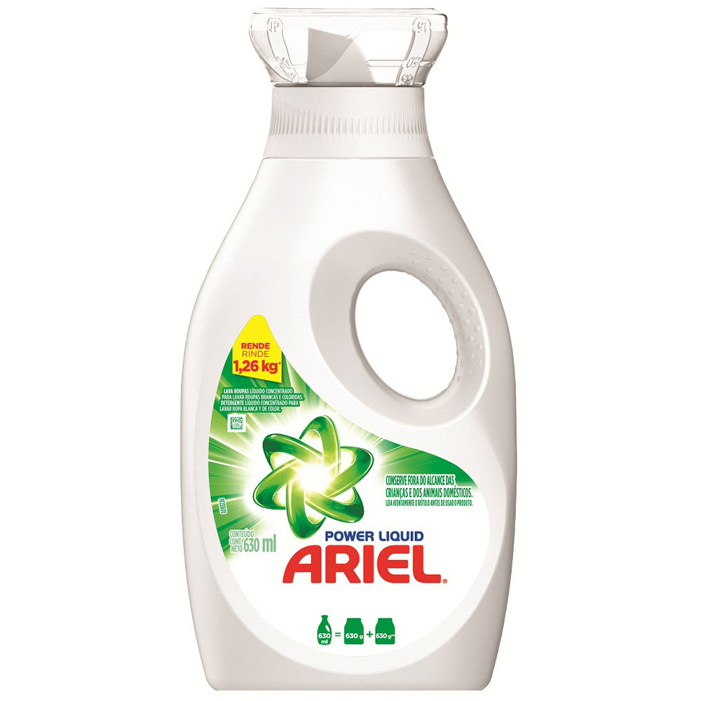7506339393903 - SABAO LIQUIDO POWER LIQUIDO 630ML ARIEL