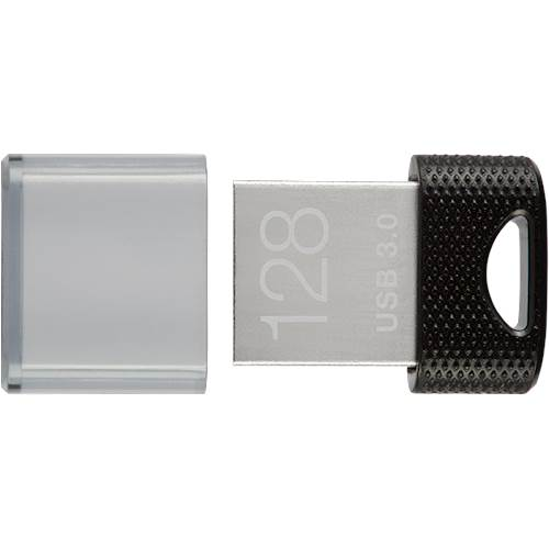 0751492598901 - PNY - ELITE X 128GB USB 3.0 FLASH DRIVE - BLACK/SILVER