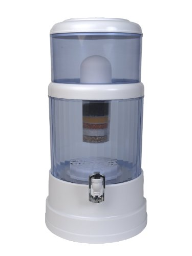 0753182256467 - ZEN WATER SYSTEMS COUNTERTOP FILTRATION AND PURIFICATION SYSTEM, 6-GALLON