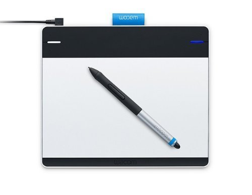 0753218990754 - WACOM INTUOS PEN AND TOUCH SMALL TABLET CTH480 (CERTIFIED REFURBISHED)