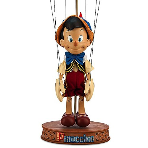 0758524008476 - DISNEY STORE PINOCCHIO MARIONETTE FIGURINE - LIMITED EDITION 1 OF ONLY 500 MADE