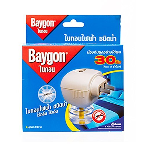 0759284787199 - BAYGON LIQUID ELECTRIC MOSQUITO REPELLER 30 DAYS 0.77 OZ. BY BAYGON