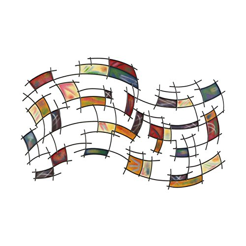 0759455241154 - UPTON HOME ABSTRACT WALL ART, COLORFUL AND UNIQUE DESIGN ARE SURE TO ATTRACT THE EYE