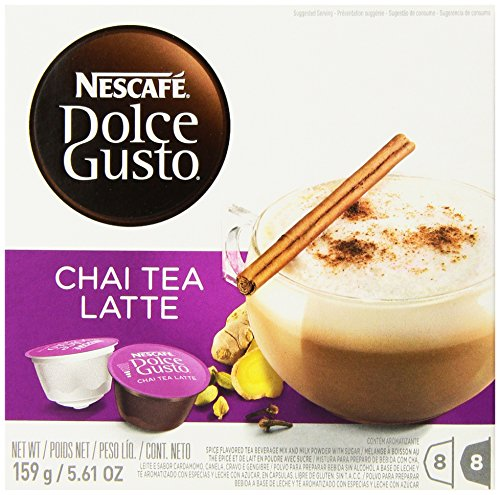 7613032864507 - NESCAFE DOLCE GUSTO FOR NESCAFE DOLCE GUSTO BREWERS, CHAI TEA LATTE, 48 COUNT