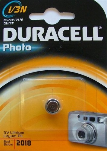 0762022254211 - DURACELL AIMPOINT DL 1/3 LITHIUM BATTERY PACKAGES: 1 AIMPPOINT DL 1/3N LITHIUM BATTERY MODEL 10315