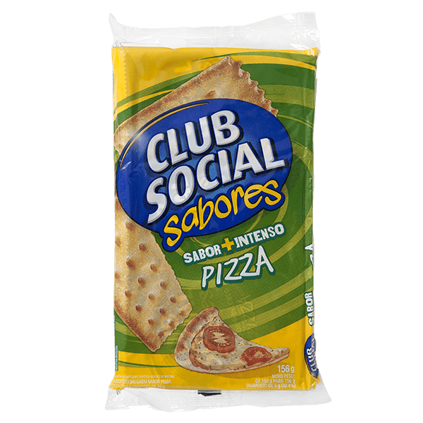 7622210641151 - PACK BISCOITO PIZZA CLUB SOCIAL PACOTE 141G 6 UNIDADES