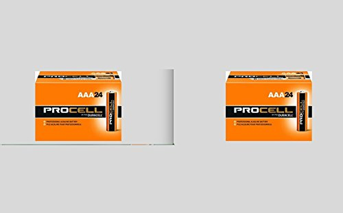 0762758408537 - DURACELL PROCELL AA 24 PACK, AAA 24 BATTERIES PACK TOTAL 48 PLUS MOSQUTIO STICKER