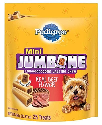 0764999730194 - PACK OF 25, 15.87 OZ, JUMBONE MINI BONES FOR DOGS
