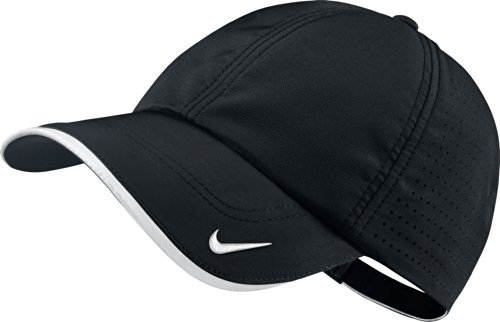 0765857348261 - 2014 NIKE GOLF PERFORMANCE BLANK CAP HAT - PERFECT FOR TEAM LOGOS (BLACK)