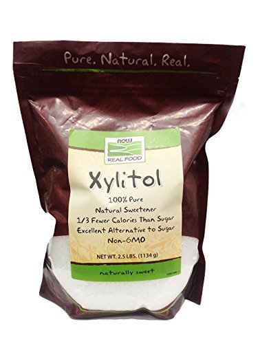 0765857714424 - NOW FOODS XYLITOL, 2.5 POUND BAG (PACK OF 2)