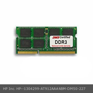 0766168370682 - DMS COMPATIBLE/REPLACEMENT FOR HP INC. AT912AA#ABM ENVY DV6-7222NR 2GB DMS CERTIFIED MEMORY 204 PIN DDR3-1333 PC3-10600 256X64 CL9 1.5V SODIMM - DMS